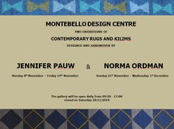 Two Exhibitions of Contemporary rugs and Kilims