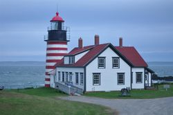 West Quoddy Head Lighthouse 1