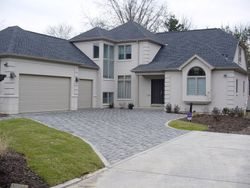 Stratford Paver Driveway with Concrete Edge