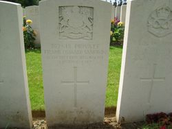 Pte. 352618 FRANK OSWALD SANGWIN, 2nd 9th Bn.
