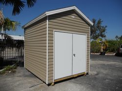 8x10 with 8 foot walls / Double door