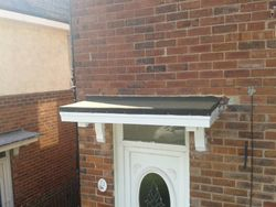 front door canopy job
