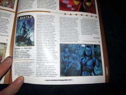 My Review of Avatar: Tsu'tey?s Path in Starburst Magazine #469: Birds of Prey Collectors? Edition