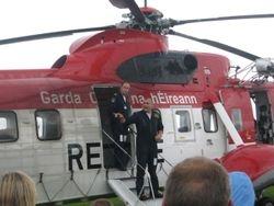 Irish Coast Guard Helicopter