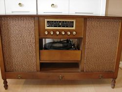 Mid-Century Curtis Mathes Compact Stereo