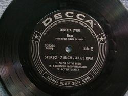 Loretta Lynn Sings EP 45 Side 2