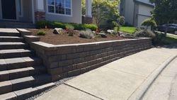Portland Oregon Landscape Steps