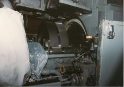 the main reduction gears of the engine