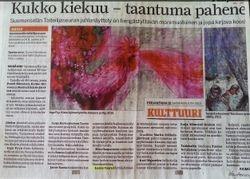 Newspaper Pohjalainen 15.11.2013