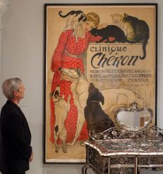 Steinlen, Clinique Cheron poster, 1905, RISD