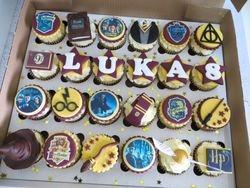 Luka's 8th Birthday Cupcakes
