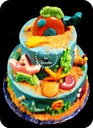 Sponge Bob and Patrick Cake