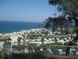 Vista de la ciudad de Haifa