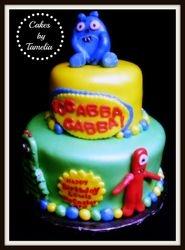 Yo Gabba Gabba Cake