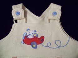 Little Wonders Romper Suit close up
