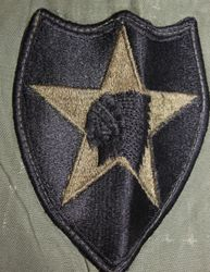 2nd Infantry / Korea, Directly Sewed in: