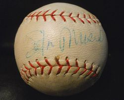ST. LOUIS CARDINALS STAN MUSIAL SIGNED RECORD BREAKER BASEBALL HOF RARE