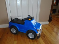 Ford Deluxe Super Duty Truck Ride On with Lights n Sounds - $10