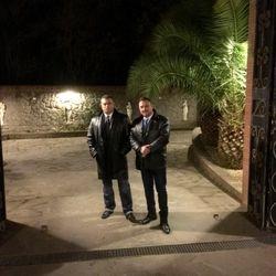 Me and Maurizio d'Ottavi, Italy 2017
