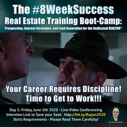 The #8WeekSuccess Boot-Camp starting June 5th is Open for Registration