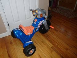 Fisher Price Hot Wheels Lights and Sounds Trike - $30