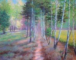 Birches path.