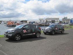 Arklow RNLI visit Portrush Lifeboat station