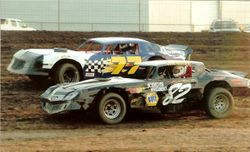 Jimmy and Danny racing in 2005