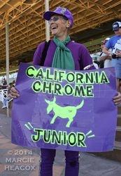 California Chrome's #1 Fan