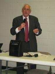Mr. Spencer Watts, new EBR Library director