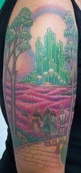 Shannon's Wizard of Oz Tattoo