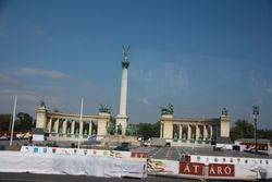Heros Square in Budapest