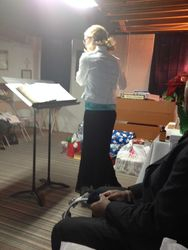 Teen Plays Flute