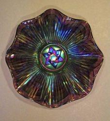 Star of David, purple