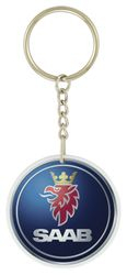 Keychains-Sublimiated with Colour Logo. Various shapes & sizes.