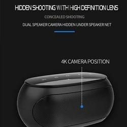 HD Wifi Spy Nanny Cam/ Bt Speaker