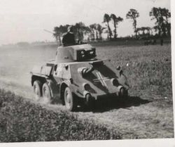 DAF Armored Car:
