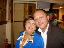 with Pamela Cundell 2008