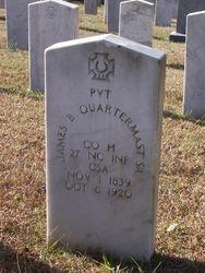 QUARTERMUS, JAMES BENJAMIN, Sr., Private, Co. H
