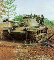 M48A3 Patton Tank: