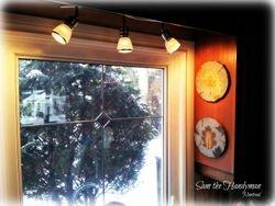 Kitchen Track Spot light fixture installation
