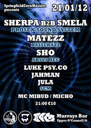 2012.01.21 - Sherpa Smela  SCM - Murrays Bar @ Dublin