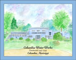 Columbia Water Works, Columbia, MS