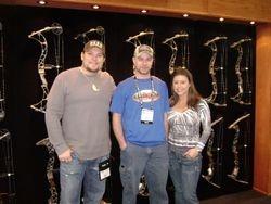 Matt with Jon and Gina Brunson