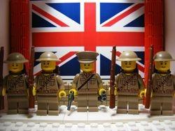 "British Captain & Regular ""Tommy's"""