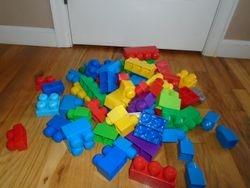 MegaBloks- Quantity of 68 - $10