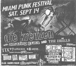 1985-09-14 Cameo Theatre, Miami, FL