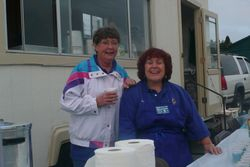Debbie and Dee.  The frontline is ready!