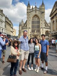 Guide around Bath - Potter Family