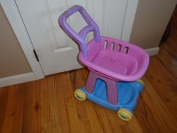 Fisher Price Shopping Cart - $15